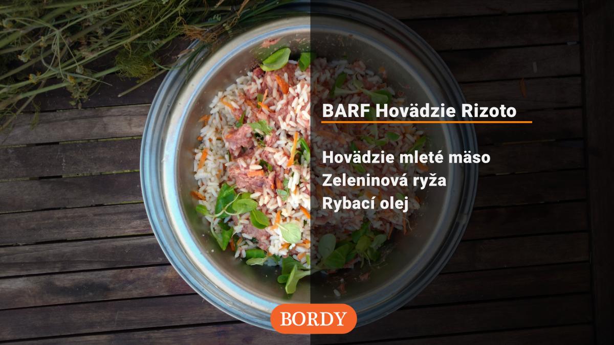 BARF Hovädzie rizoto